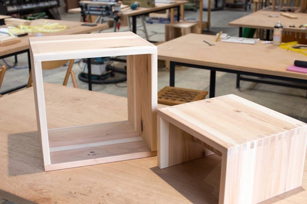 ツバキラボ DIY ノンレッスン 子ども家具 木組み