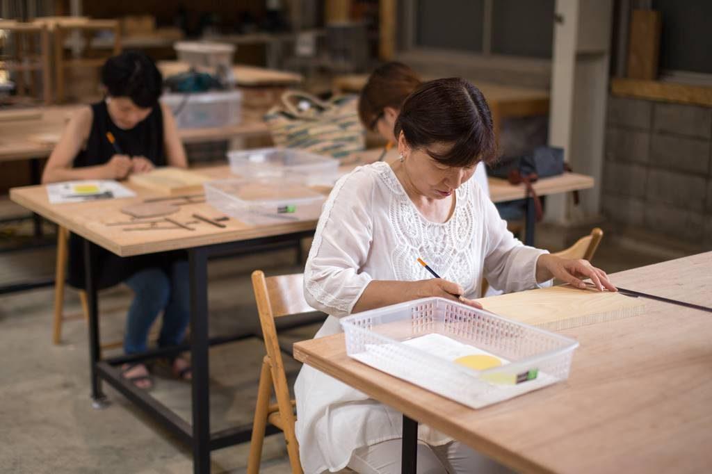 ツバキラボ ワークショップ カッティングボード DIY レンタル工房