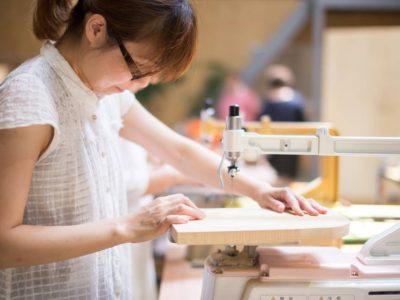 岐阜商工会議所 まちゼミおしえ店長さんで「オリジナルカッティングボードづくり」ワークショップを行いました!