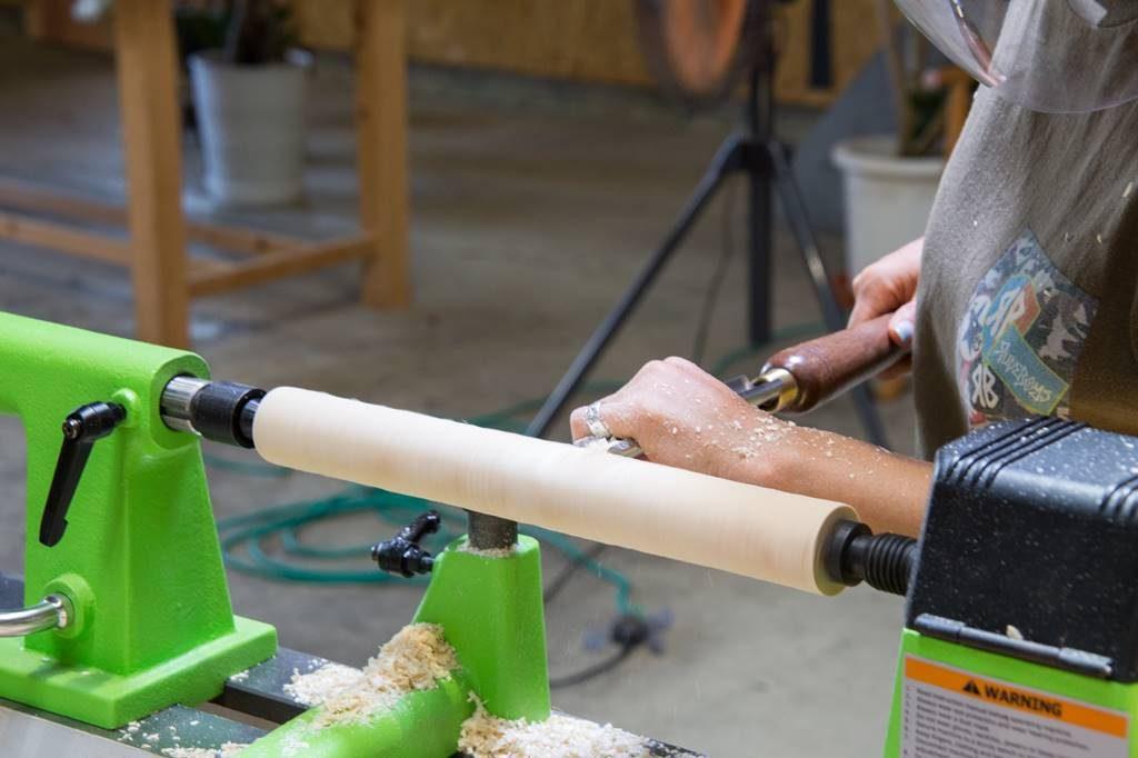 ツバキラボ 木工 DIY レッスン ウッドターニング 教室 木工旋盤