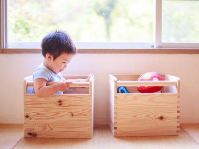 長良杉でつくる本格木組みのおもちゃ箱 10月11日(水)まだまだ受付中です!