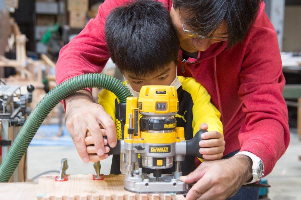 長良川おんぱく おもちゃ箱 長良杉 ツバキラボ