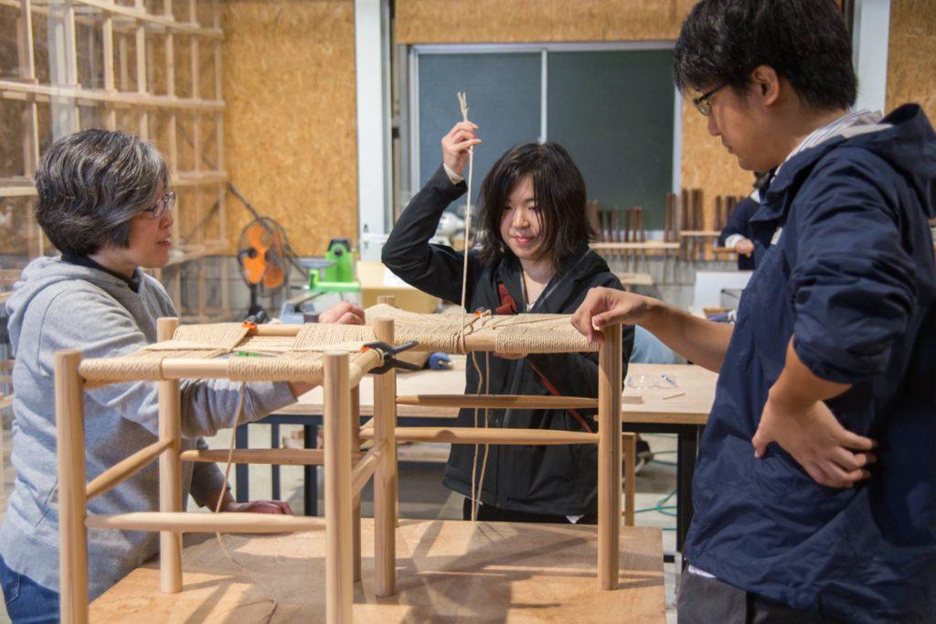 ツバキラボ 木工 DIY レッスン ワークショップ おんぱく