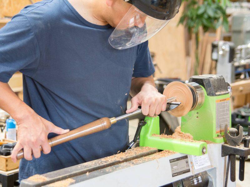 そもそも木工旋盤って何ができるの?