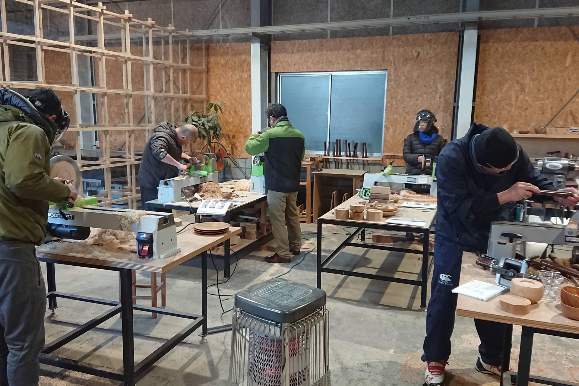 木工旋盤 レッスン 教室 ツバキラボ