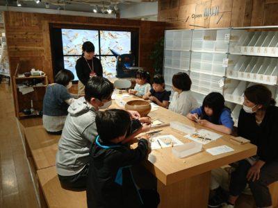 無印良品名鉄百貨店 OPEN MUJIにてバターナイフづくりのワークショップを行ってきました
