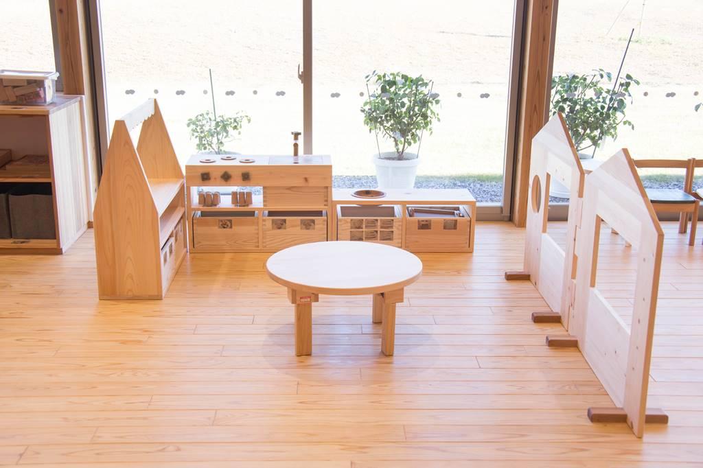 大野町 子育てハウス ぱすてる 子育て支援センター 子ども 家具 キッチン家具