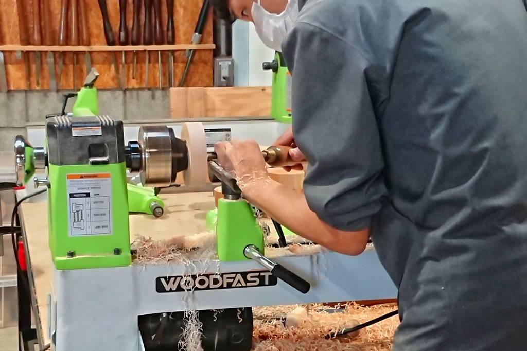 ツバキラボ 木工 教室 レッスン シェア工房 木工旋盤