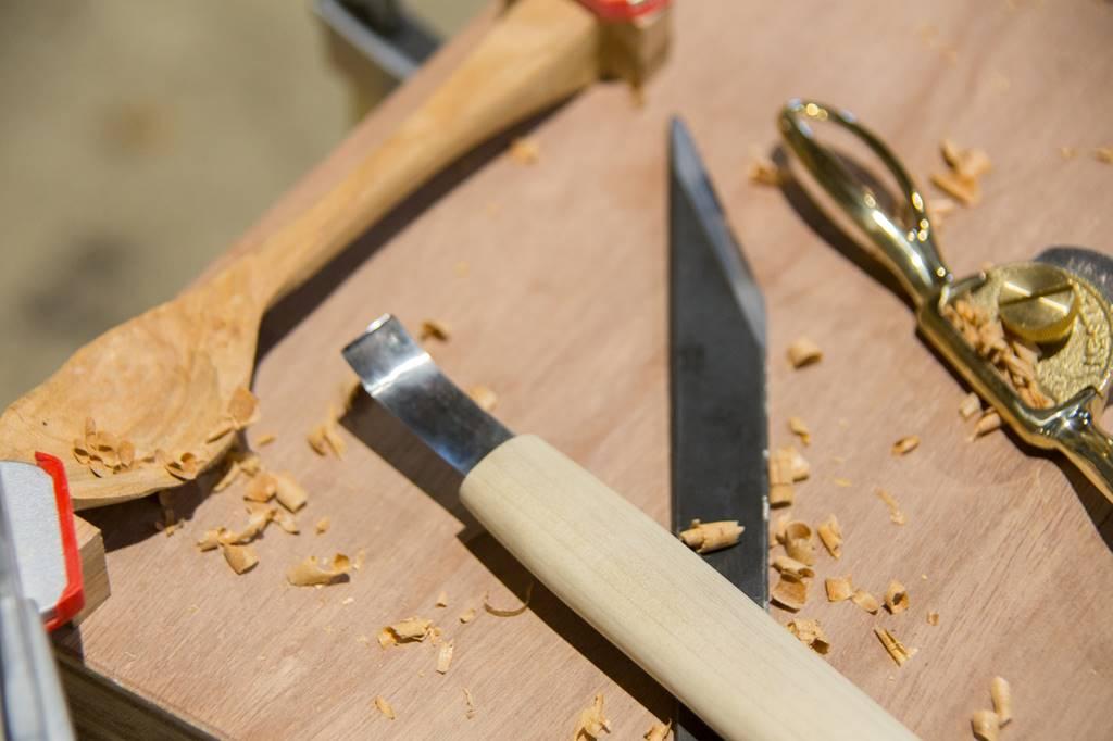 ツバキラボ スプーンづくり 無印良品 OpenMuji 手作り 木工
