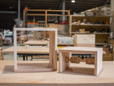 ノンレッスンメンバーの制作事例:初孫のために子ども家具を作りたい!