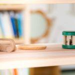 高富児童館 家具 什器 木製 棚 絵本棚