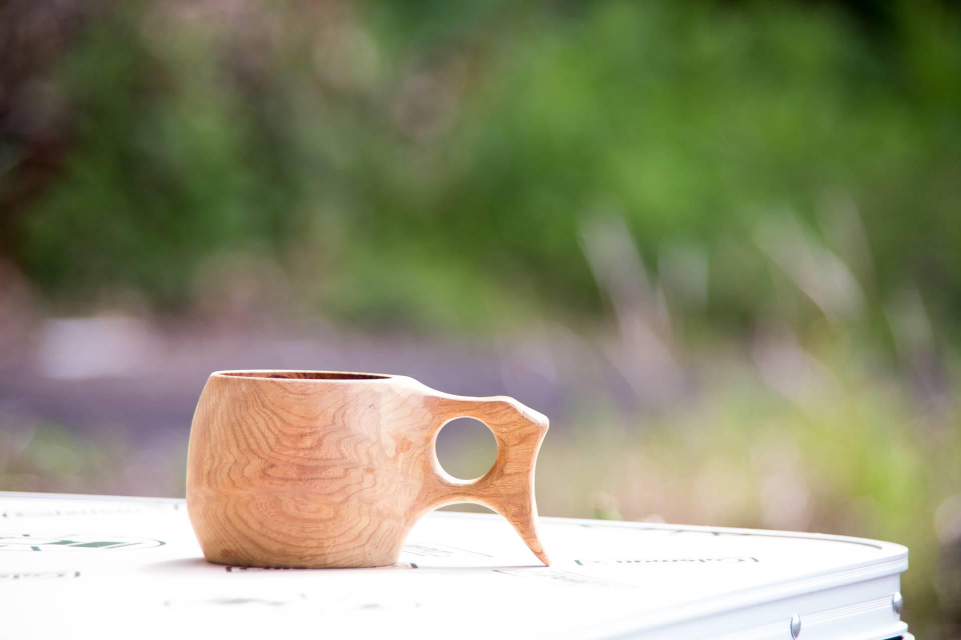 ククサ 木のマグカップ