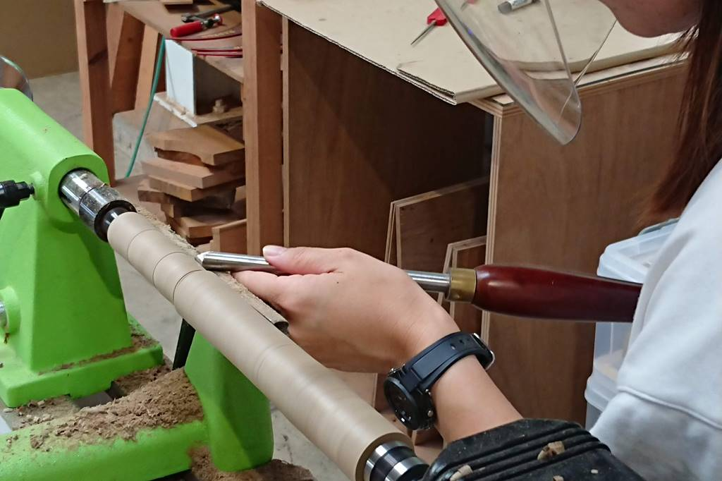 木工旋盤 教室 レッスン ツバキラボ 木工教室