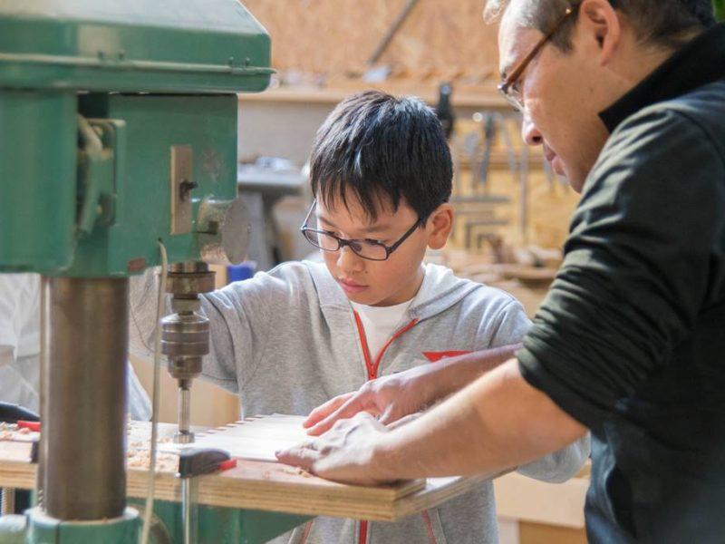 長良川おんぱく「長良杉でつくる本格木組みのおもちゃ箱」を開催しました!