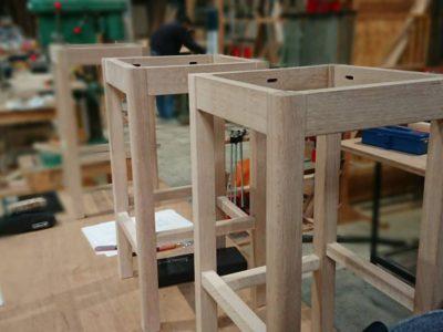 今年最後の木工旋盤レッスン実施中です。