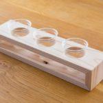 日本酒 飲み比べ カップ 試飲 ホルダー カップホルダー