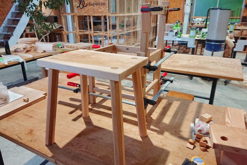 ツバキラボ 椅子 イス DIY 木工 自作