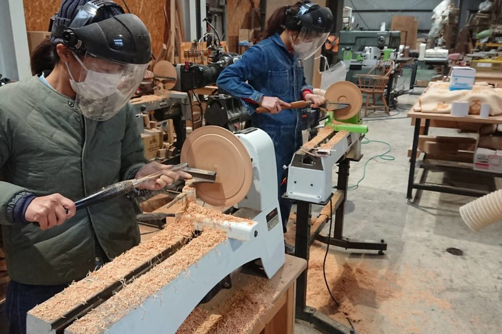 木工旋盤 教室 レッスン ウッドターニング ツバキラボ