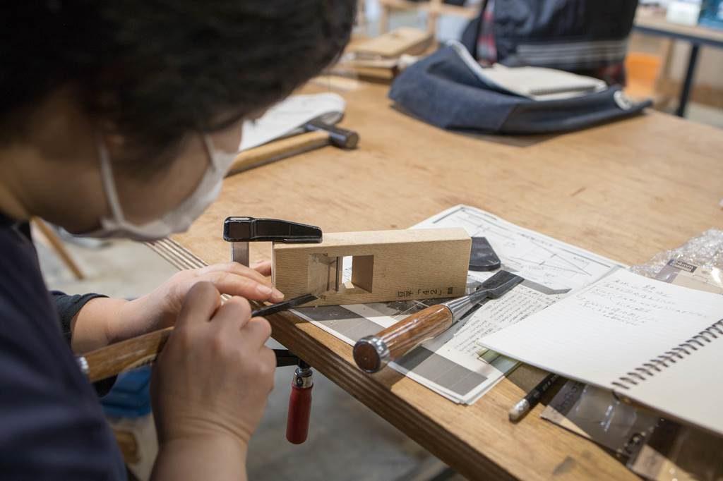 鉋 手鉋 講習 レッスン ツバキラボ DIY