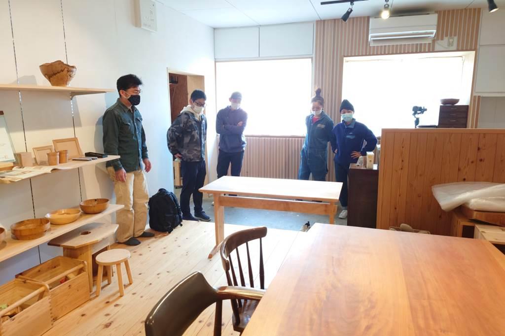 木工 木工旋盤 教室 ツバキラボ DIY ダイニングテーブル
